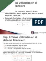 Presentación Cálculo Financiero Tasas Utilizadas en el Sistema Financiero.ppt