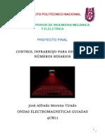 Proyecto Final--Control Remoto para Display de Números Binarios