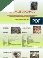 Minerales de Cobalto