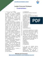 17.simulado construtivismo