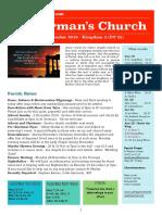 st germans newsletter - 18 november 2018