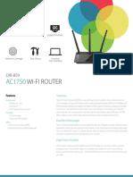 D-Link Dir859 AC1750 WiFi Router