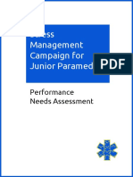 Performance Campaign Needs Assessment