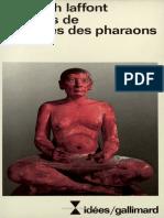 Les Livres de Sagesses Des Pharaons