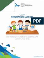 Club Matematicas Ludicas Doc Base Sec