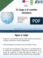 M1UT2 El Riego y El Cambio Climatico