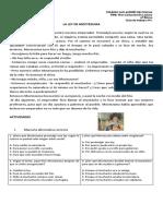 6° básico Guía 01 moctezuma