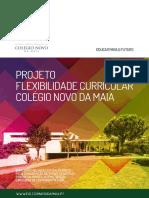 Projeto de Flexibilidade Curricular Do Colegio Novo Da Maia 2