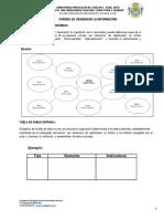 FORMAS DE ORGANIZAR LA INFORMACIÓN
