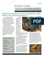Winter 2009 Newsletter Redwood Coast Land Conservancy