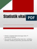 Pertemuan 9 - Statistik Vital