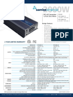 PST-2000!12!24 Samlex Specifications