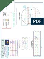 Plano de Calibracion de Planchaje Tanque Reactor n1 Ard250