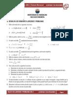 Taller 3 de Calculo Diferencial (Ingenieria)