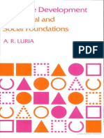A. R. Luria-Cognitive development, its cultural and social foundations.pdf