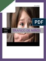 Trabajo de Trafico de Menores
