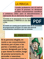 PPT Pericia y Prueba Documental