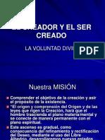 EL CREADOR Y EL SER CREADO.ppt