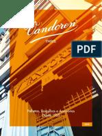 Catalogo Vandoren 2018