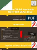 NOM-010-SSA2-2010 VIH.pptx