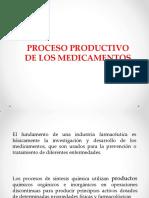 Proceso Productivo de Los Medicamentos 1