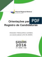 TSE Cartilha 2016