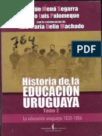 Luis Agapo Palomeque - Historia de la educación uruguaya - Tomos II y III-.pdf