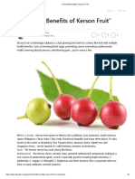 """13 Health Benefits of Kerson Fruit"""