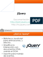 Sesion 9. jQuery