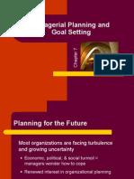 Managerial Plann