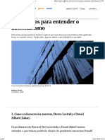 Cinco Livros Para Entender o Autoritarismo - Época