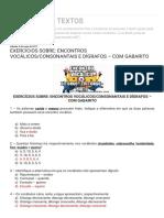 ARMAZÉM DE TEXTOS_ EXERCÍCIOS SOBRE_ ENCONTROS VOCÁLICOS_CONSONANTAIS E DÍGRAFOS – COM GABARITO.pdf