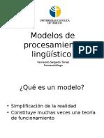 Clase 5 - Modelos de Procesamiento Lingüístico