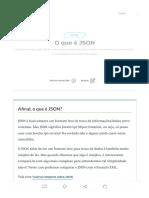 O Que é JSON_ Do Básico Ao Avançado Com JSON - Leia Agora!