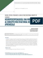 Neuropsicopedagogía