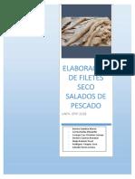 Elaboración de Balance de Materiales en La Conservación de Alimentos