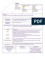 lesson plan template directionality