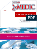 medicamentos anestesicos pre