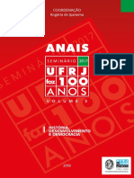 2018 Anais Do Seminario Ufrj Faz 100 Anos Volume 3 Web