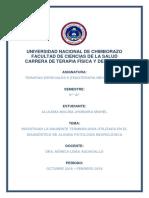 Terminologia de Patologias Neurologicas