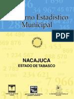 Cuaderno Estadístico Municipal_NACAJUCA