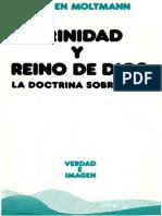 Moltmann Jurgen - Trinidad y Reino de Dios.PDF