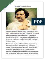 Biografía de Honore De  Balzac.docx