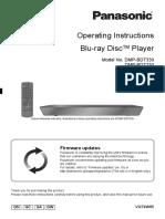 Blu Ray Panasonic Dmp-bdt230