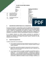 Silabo de Anatomia-tecnologia Medica 2015-II-1