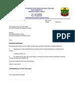 Surat Pohon Sumbangan Pibg