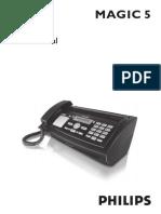 Philips Magic 5 Fax User Manual