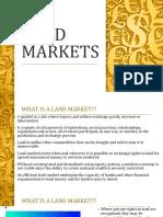 11.Land Markets