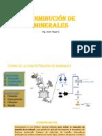 Conminución de Minerales Trituración y Clasificación
