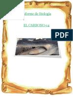 Informe de Biología